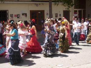 Feste Feiern im Dorf