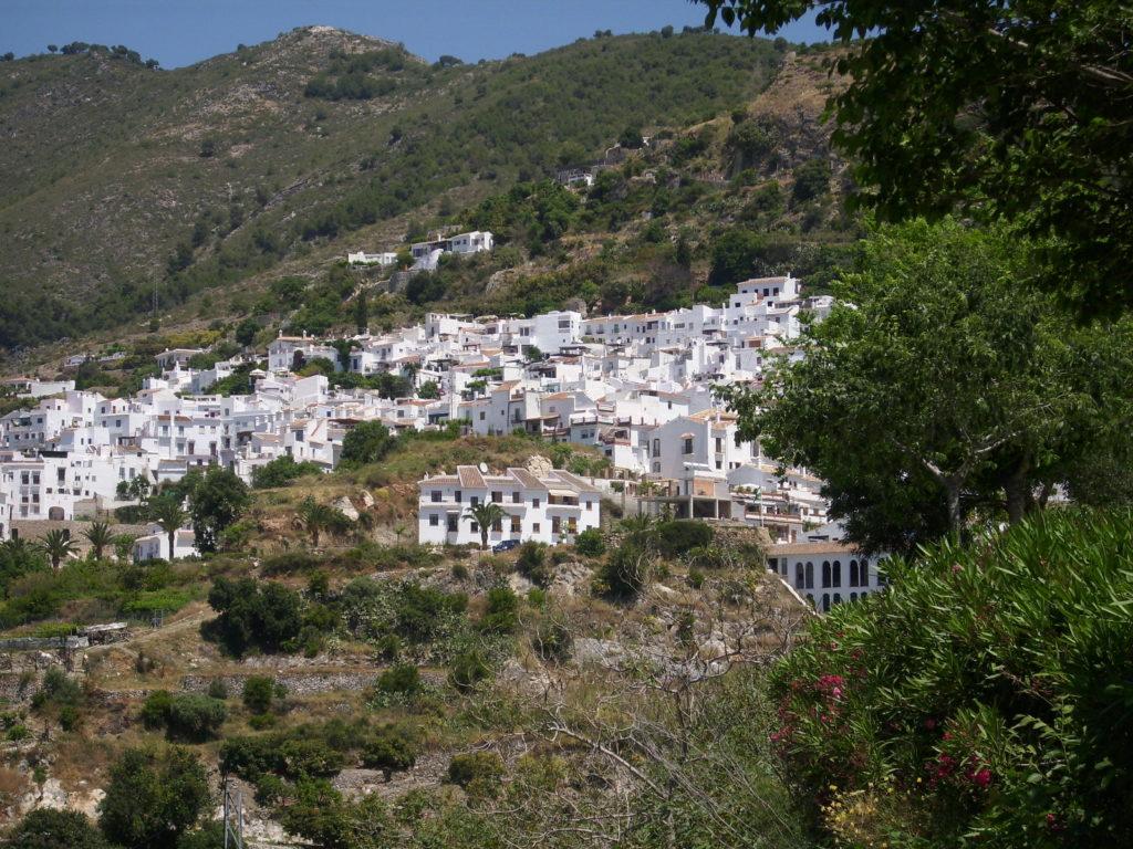 Frigiliana Dorf