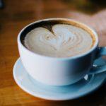 Frühstück-Kaffee-Wohnzimmer