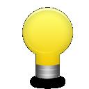 Lampe als Kontakt