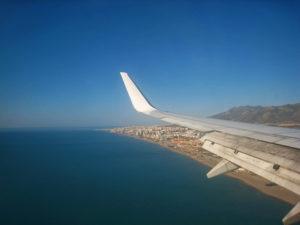 malaga anflug