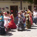 Trachtenzug in Malaga